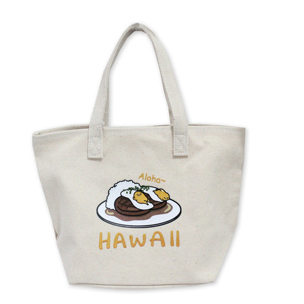 Gudetama Locomoco W Tote Lunch Bag Canvas 56778-00001