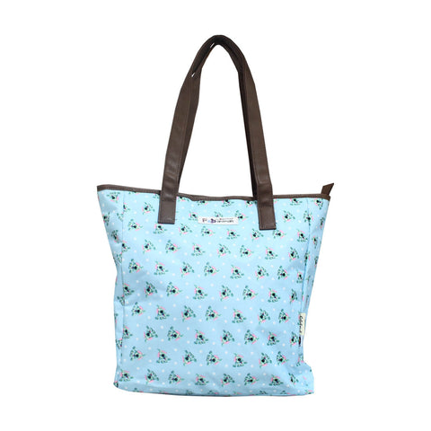 Bang on the Door Dog Pats Bags Tote Blue 72-71-0008