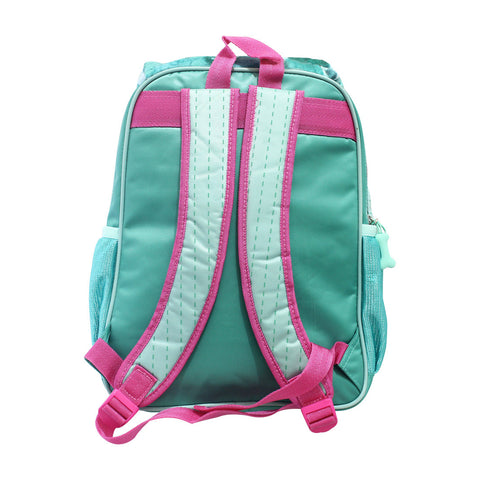 "Bang on the Door Puppy Puff Backpack Green 16"" 72-71-0013"