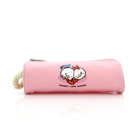 TSUM TSUM Sweet Color Series Pink Pencase 81-23-0057