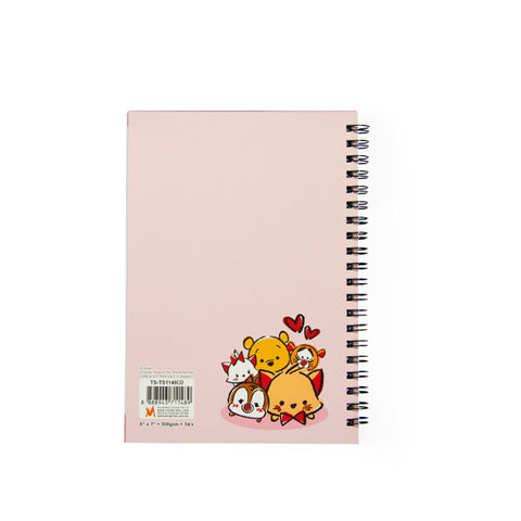 TSUM TSUM Sweet Color Series Pink Notebook 81-29-0010