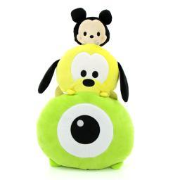 TSUM TSUM Mike, Goofy & Mickey Stackable Cushion 3