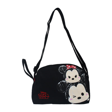 Tsum Tsum Black MM Series Mini Sling Bag 81-73-0013