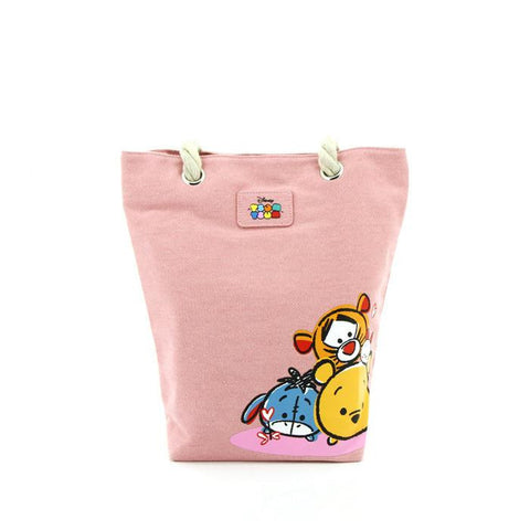TSUM TSUM Sweet Color Series Pink Tote Bag 81-73-0018