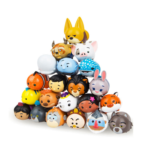 Tsum Tsum Collectable Squishy SERIES 4 GLITTERY RARES 2 Pack 81-25-0008