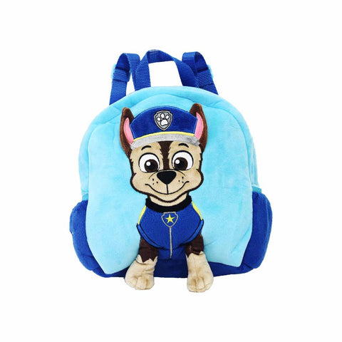 "PAW PATROL Chase Plush Backpack 9"" Blue 84-71-0011"
