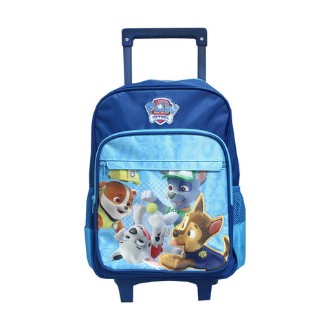 PAW PATROL Puff Trolley Backpack Blue 14inch 84-72-0001