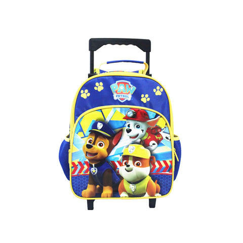 PAW PATROL Police Badge Trolley Backpack 12inch 84-72-0002