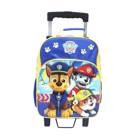 PAW PATROL Police Badge Trolley Backpack 14inch 84-72-0003