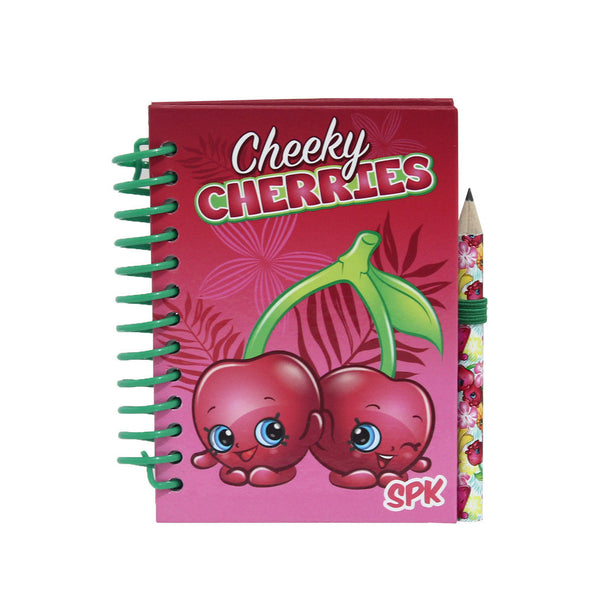 Shopkins NoteBook with Pencil A7 Stationery 86-22-0002