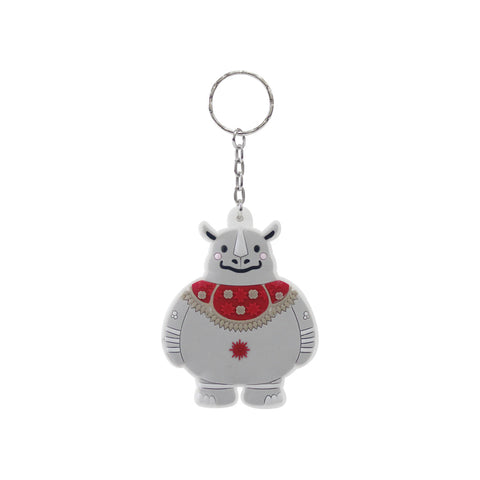 Asian Games 3D Rubber Keychain KAKA