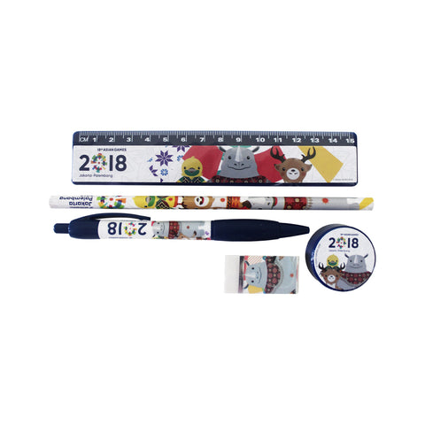 Asian Games Stationery Set