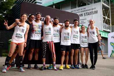 Just another relay with Mile High Run Club at Tracktown USA