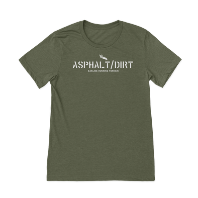 Asphalt and Dirt - Heathered Tee - Unisex - Bakline