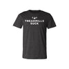 Treadmills Suck - Heathered Tee - Unisex - Bakline