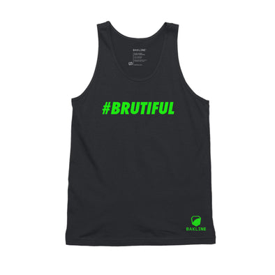 #Brutiful - Cotton Tank - Unisex - Bakline