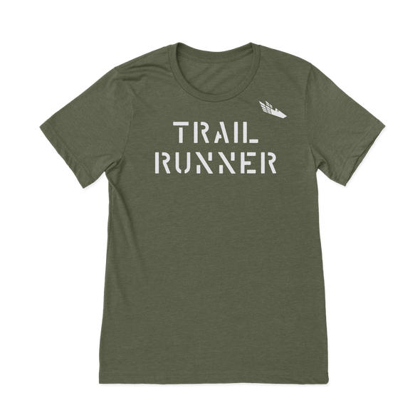 Trail Runner - Heathered Tee - Unisex - Bakline