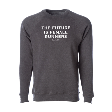 Future is Female Runners - Raglan Sweatshirt - Unisex - Bakline