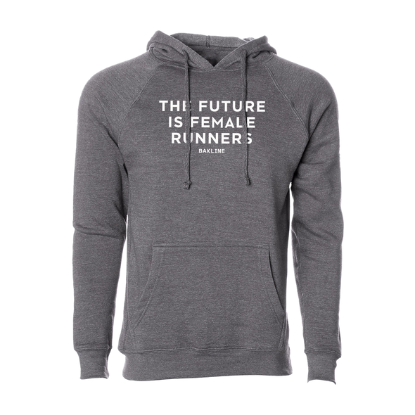 Future is Female Runners - Raglan Pullover Hoody - Unisex - Bakline