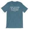 Future is Female COACHES Heathered Unisex Tee - Bakline