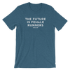 Future is Female Heathered Unisex Tee