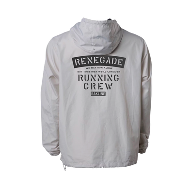 Renegade Running Crew - Pullover Windbreaker - Men's - Bakline