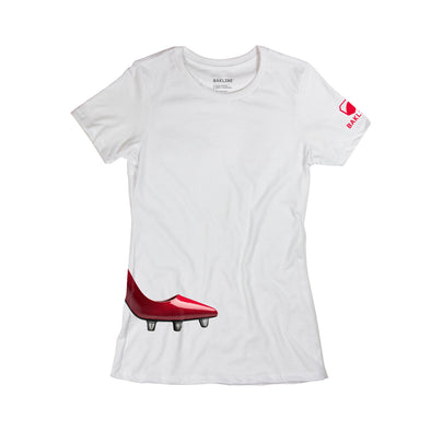 High Boot - Cotton Tee - Women's - Bakline