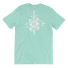 Defeat the Wall Heathered Short Sleeve - Bakline