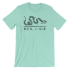 Run or Die Heathered Short Sleeve - Bakline