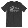 Run or Die - Heathered Tee - Unisex - Bakline