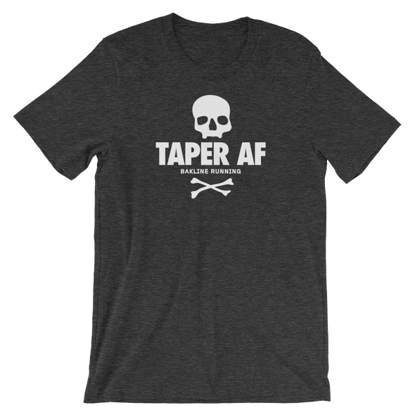 Taper AF Heathered Men's Tee - Bakline