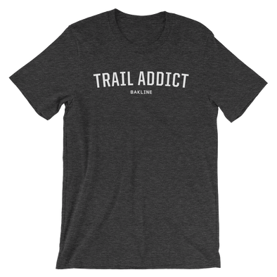 Trail Addict - Heathered Tee - Unisex - Bakline