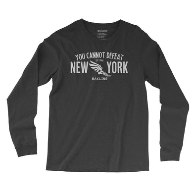 You Cannot Defeat New York Long Sleeve Slim Fit - Bakline