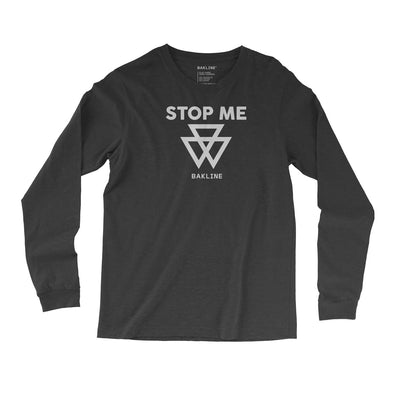 STOP ME Hazard Triblend Long Sleeve - Bakline