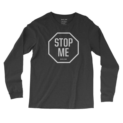 STOP ME Long Sleeve Slim Fit