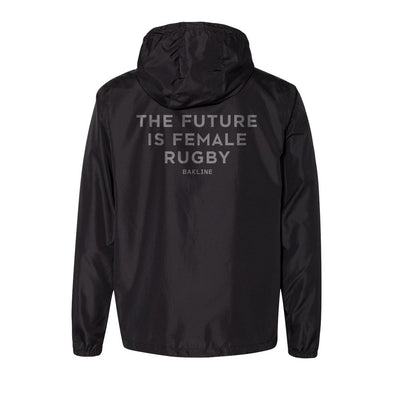 Future is Female Rugby Reflective Windbreaker