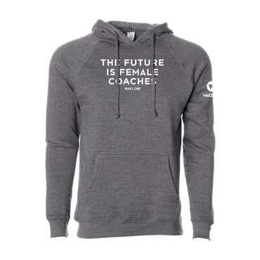 Future is Female Coaches - Raglan Pullover Hoody - Unisex