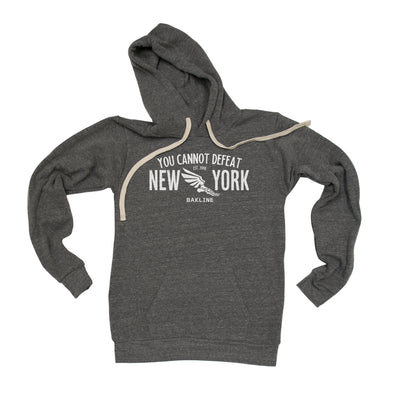 You Cannot Defeat New York Pullover Hoody - Bakline
