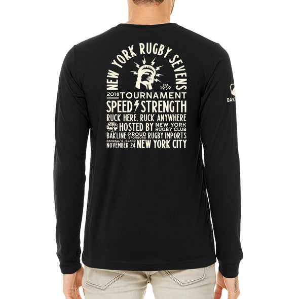 2018 New York 7s Official Tournament Long Sleeve