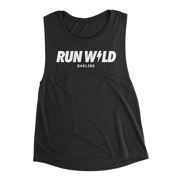 Run Wild Women's Muscle Tank - Bakline