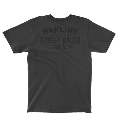 Street Racer Pocket Heathered Unisex Tee - Bakline