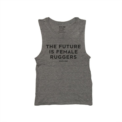 Future is Female RUGGERS Muscle Tank - Bakline
