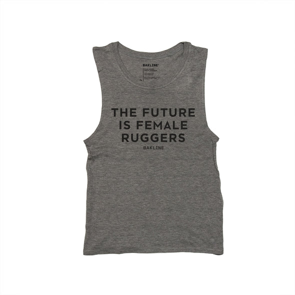 Future is Female RUGGERS Women's Muscle Tank - Bakline