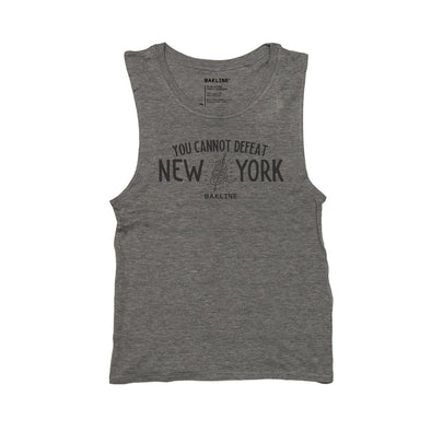 Cannot Defeat New York Women's Muscle Tank - Bakline