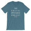 The Social Distance Project - Heathered Tee - Unisex - Bakline