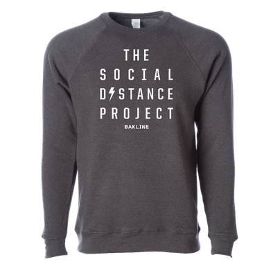 The Social Distance Project Unisex Raglan Crew Neck Sweatshirt - Bakline