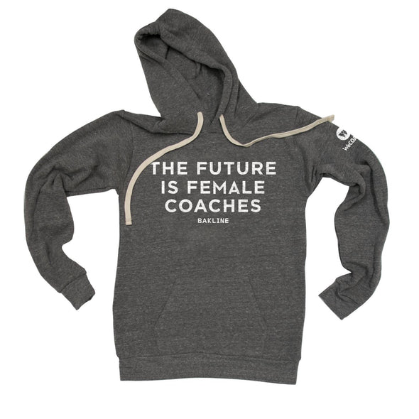 Future is Female COACHES - Pullover Hoody - Unisex - Bakline