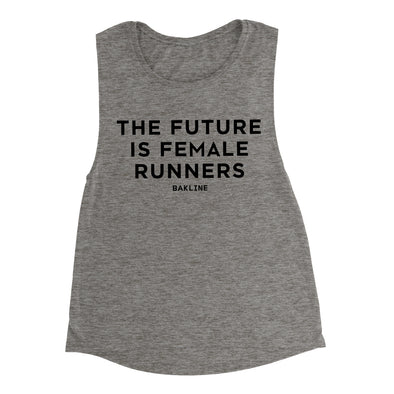 Future is Female RUNNERS - Muscle Tank - Women's - Bakline
