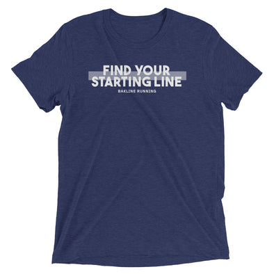 Find Your Starting Line Slim Fit Tee - Bakline