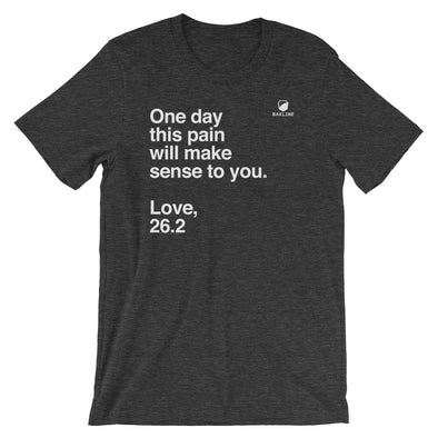 One Day, Love 26.2 Heavy Duty Tee - Bakline